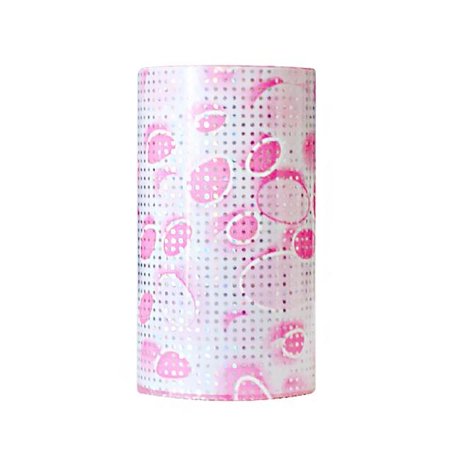 Folie Decorativa Transfer Manichiura, Molecular Pink imagine produs