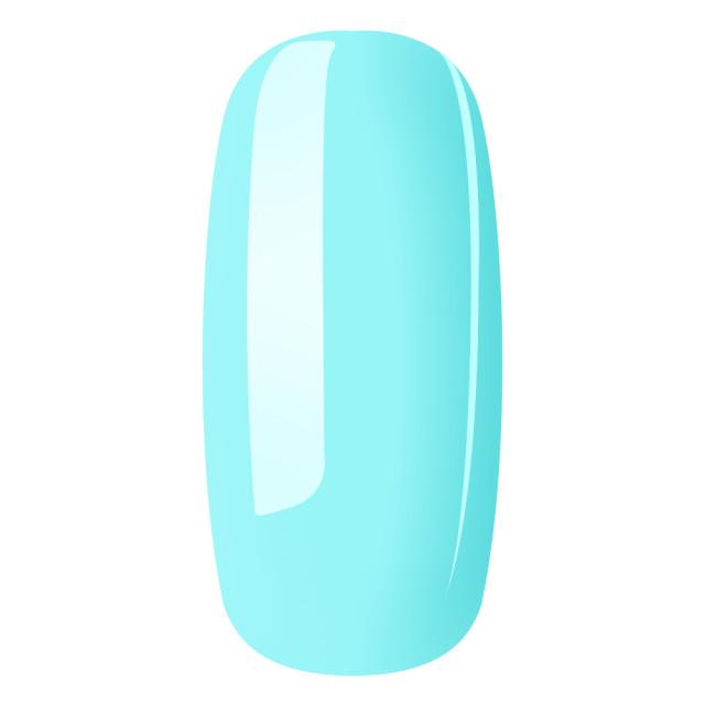 Gel Color Unghii Exclusive Nails Breeze Pastel No 86 Santorini Sky imagine produs