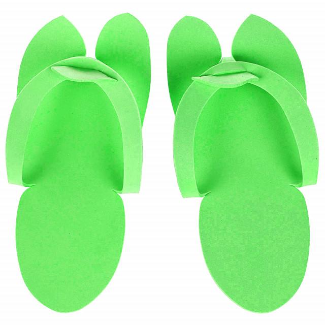 Slapi Unica Folosinta Pedichiura, Culoare Verde imagine produs