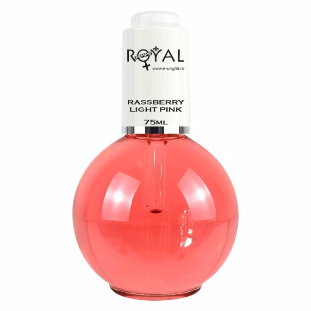 Ulei Cuticule cu Parfum de Zmeura Royal Femme, Rassberry 75 ml imagine produs
