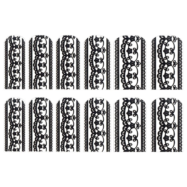 Abtibilde Unghia Intreagã 12 Bu, FD006, Stickere Unghii imagine produs