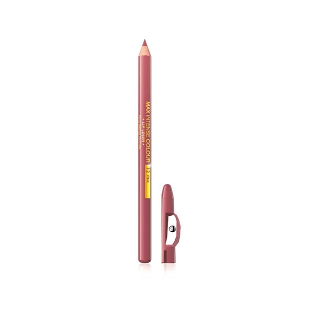 Creion Contur Buze, Eveline Max Intens Colour 12 Pink imagine produs