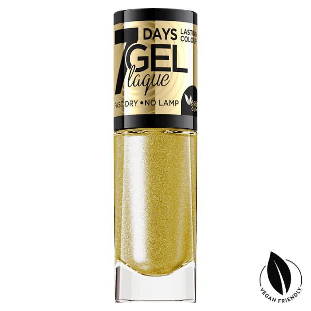 Lac Unghii cu Efect de Gel 7 Days Gel Festive Eveline Cosmetics No 05 imagine produs