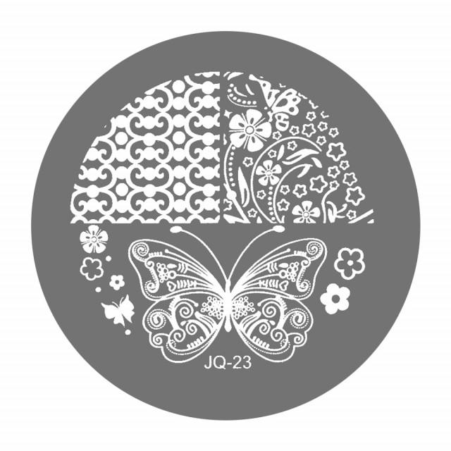 Matrite Stampile Unghii, Cod JQ-23, Accesorii Profesionale Manichiura imagine produs