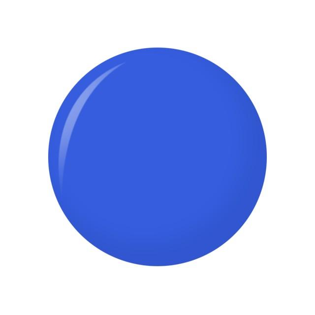 Oja Semipermanenta Peel-OFF - 011 Cobalt Blue (Gel Lac Exfoliant) imagine produs