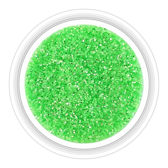 Sclipici Unghii Efect Mirror Culoare Verde Brotacel Cod SM-7 , Accesorii Nail Art imagine produs