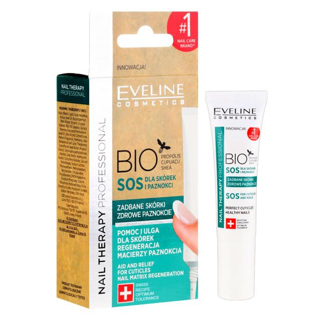 Tratament Unghii si Cuticule BIO SOS Unghii Sanatoase Eveline Cosmetics 12ml imagine produs