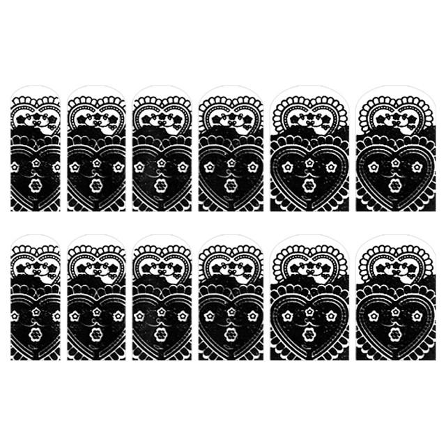 Abtibilde Unghia Intreagã 12 Buc, FD007, Stickere Unghii imagine produs