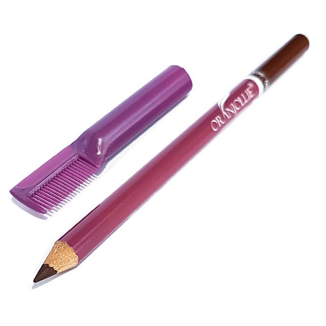 Creion Ochi si Sprancene cu Pieptene Sprancene, Culoare Maro imagine produs
