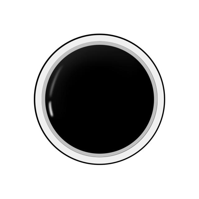 Gel colorat unghii Royal Femme BLACK (Geluri Profesionale Unghii) imagine produs