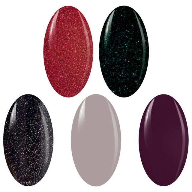 Kit Geluri Color Exclusive Premium Line, 5 Culori la Alegere imagine produs