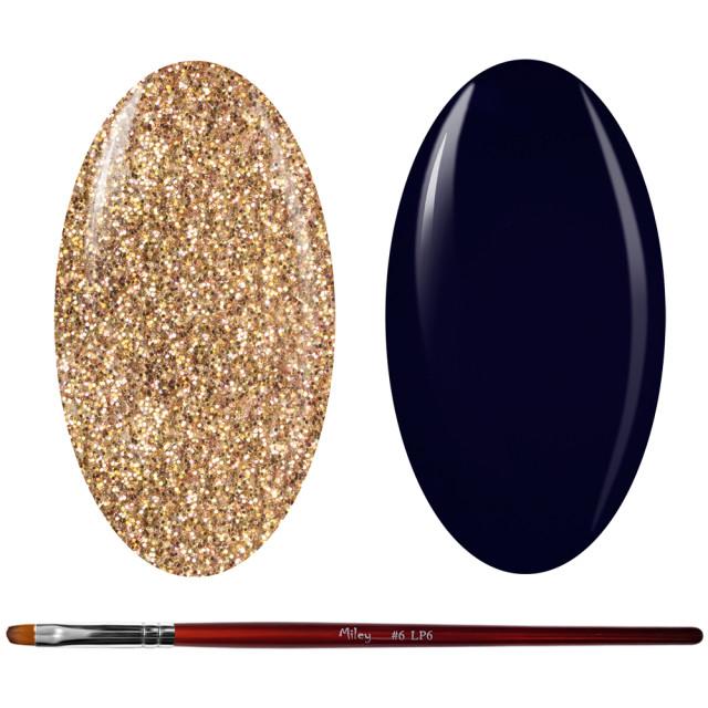 Kit Geluri Color + Pensula Gel Unghii, Cod K2GP-60G/72 imagine produs