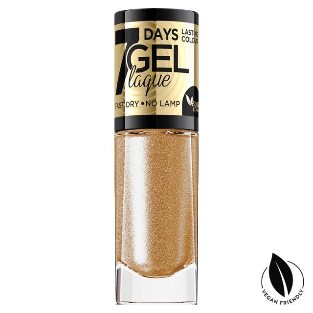 Lac Unghii cu Efect de Gel 7 Days Gel Festive Eveline Cosmetics No 06 imagine produs