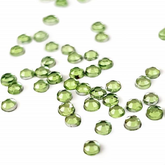 Strasuri Unghii Pietricele Culoare Verde Brotacel, Pietre Decorative Manichiura imagine produs