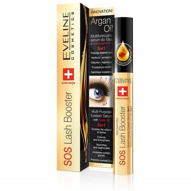Tratament Cadere si Crestere Gene 5in1 SOS Eveline Cosmetics imagine produs
