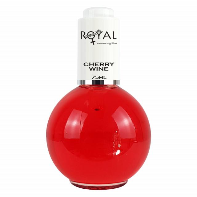 Ulei Cuticule cu Parfum de Cirese Salbatice Royal Femme 75 ml imagine produs