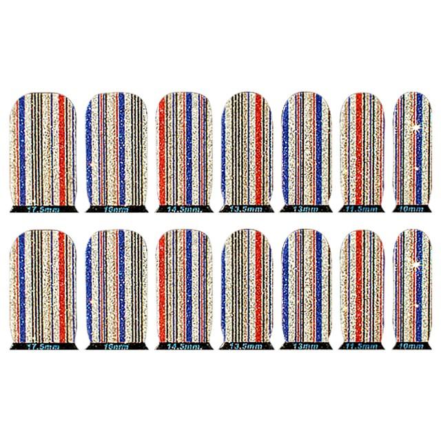 Abtibilde Unghia Intreaga 14 Buc, C1024, Stickere Unghii imagine produs