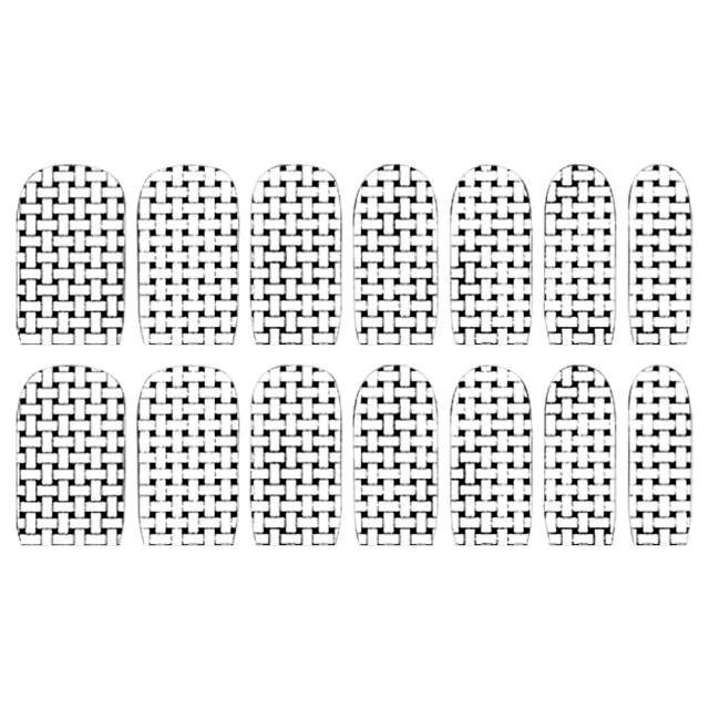 Abtibilde Unghia Intreaga 14 Buc, S1124, Stickere Unghii imagine produs