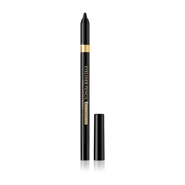 Creion Ochi Rezistent la Apa Culoare Negru Eveline Cosmetics Eyeliner Pencil Waterproof imagine produs