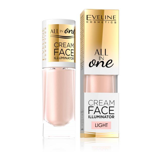Iluminator Fata Eveline Cosmetics All In One, Light imagine produs