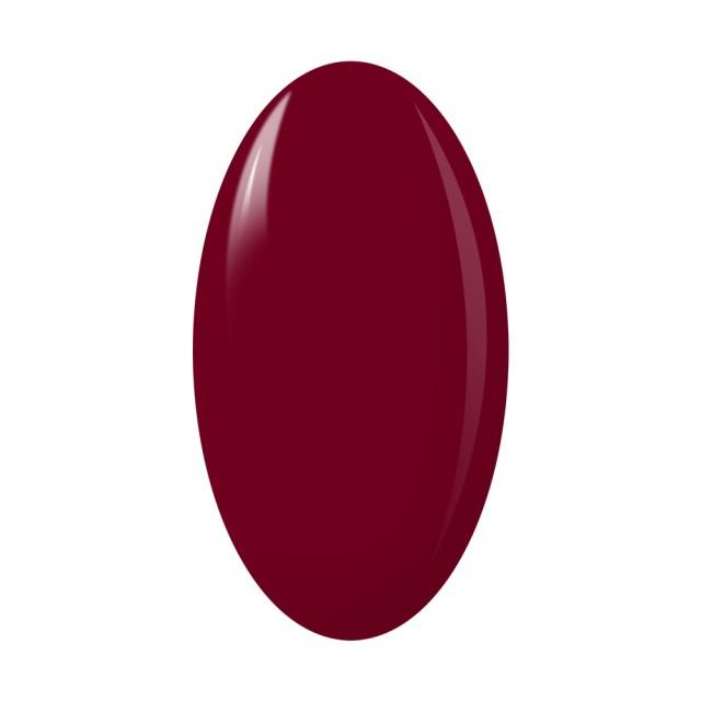 Oja Semipermanenta One Step Color, Exclusive Nails, Cod 8, Cantitate 5ml, Culoare Rosu Burgundy imagine produs