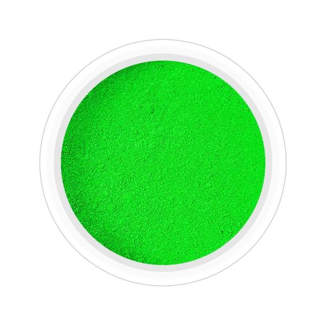 Pigmenti Geluri, Culoare Verde NEON, Pigmenti Colorati Manichiura - Unghii imagine produs