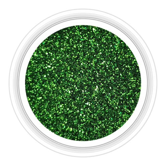 Sclipici Unghii Culoare Verde Crom Cod 09 imagine produs