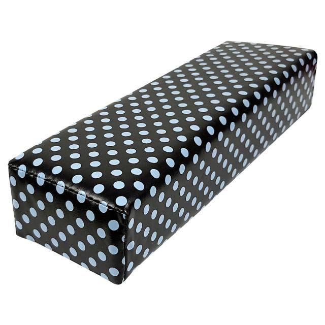 Suport Maini Manichiura Model 'Gray Polka Dots' imagine produs