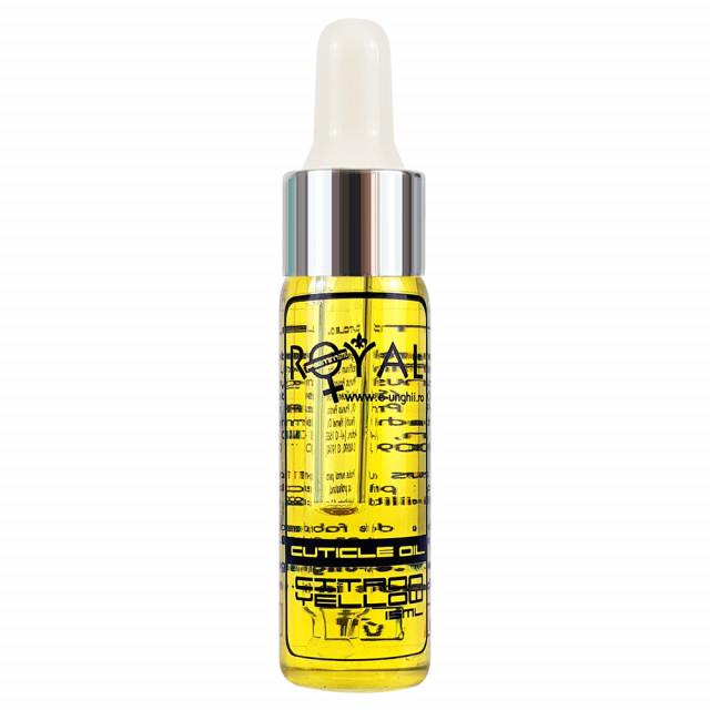 Ulei Cuticule Lamaie, Royal Femme Citron Yellow, 15 ml imagine produs