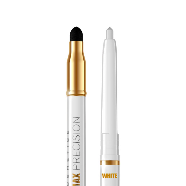 Creion Ochi 2 Capete Eveline Eye Max Precision, White imagine produs