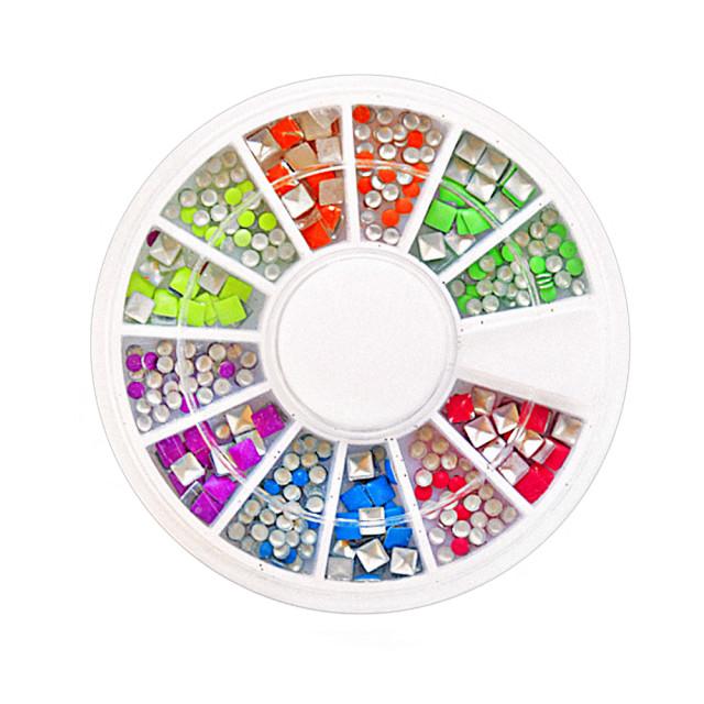 Decor Unghii Tip Tinte Culori ?i Forme Diferite imagine produs
