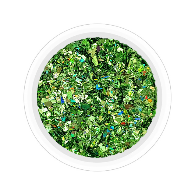 Micro Gheata Unghii Culoare Green Forest, Cod GUM07 imagine produs