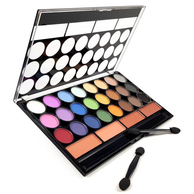 Paleta Machiaj Pleoape 28 Culori si Nuante Diferite, Meis Kit imagine produs