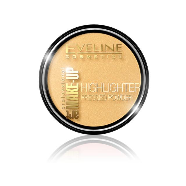 Pudra Iluminatoare Eveline Cosmetics Art 55 Golden imagine produs
