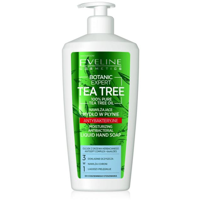 Sapun Lichid Antibacterian cu Ulei din Arbore de Ceai 3in1 Botanic Expert Tea Tree Oil 100% Pure Eveline imagine produs
