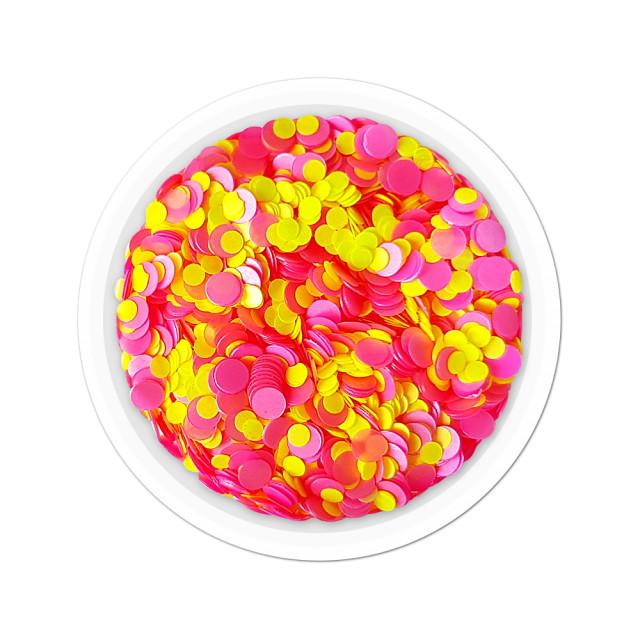 Confetti Unghii Multicolore Cod CU-26, Accesorii Nail Art imagine produs