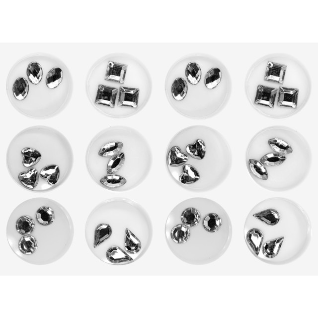 Decoratiuni Unghii Set, Cristale Forme Diferite imagine produs