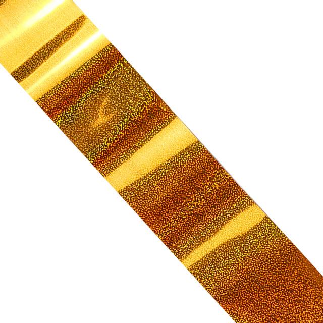 Folie Decorativa Transfer Manichiura, Metallic Golden Rain imagine produs