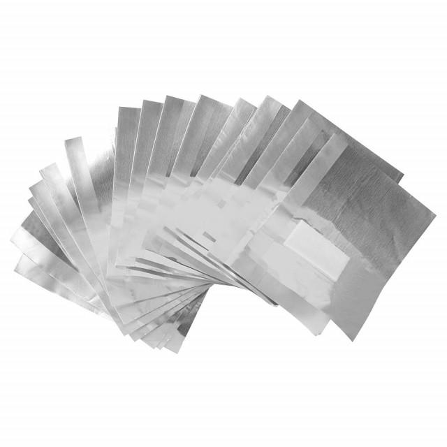 Folii Aluminiu Indepartare Oja Semipermanenta Unghii, Cutie 20 Bucati imagine produs