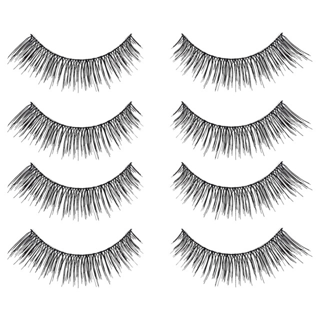 Gene False Banda Oriental Eyelashes Set 4 Perechi No F32 imagine produs