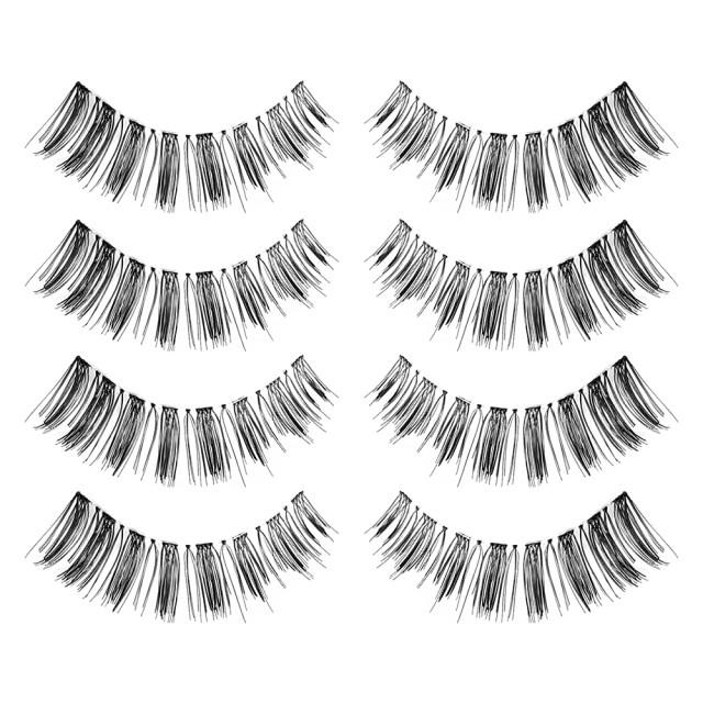 Gene False Banda Oriental Eyelashes, Set 4 Perechi, No F3 imagine produs