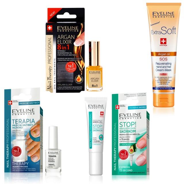 Kit Tratamente 4 in 1 Unghii si Maini, Eveline Cosmetics imagine produs