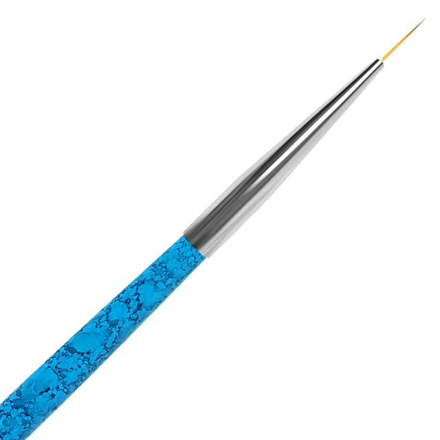 Pensula Pictura Varf Lung Aurora Blue No 00# imagine produs