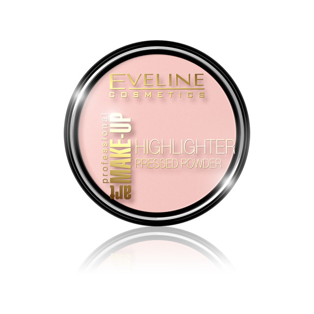 Pudra Iluminatoare Eveline Cosmetics Art 54 Rose imagine produs