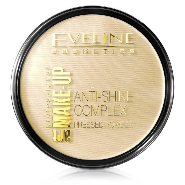 Pudra Minerala Matifianta Anti Stralucire Eveline Cosmetics, No 33 Golden Sand imagine produs