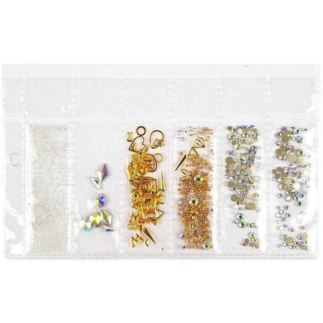 Strasuri Unghii, Ornamente Metalice si Pietricele, 82602 imagine produs