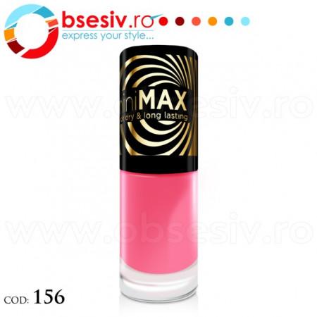 Lac Unghii, Cod 156, Producator Eveline Cosmetics, Gama miniMAX, Lacuri Profesionale Unghii Eveline miniMAX