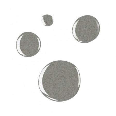 Oja Semipermanenta METALLIC SILVER - Geluri Lac Exclusive Nails