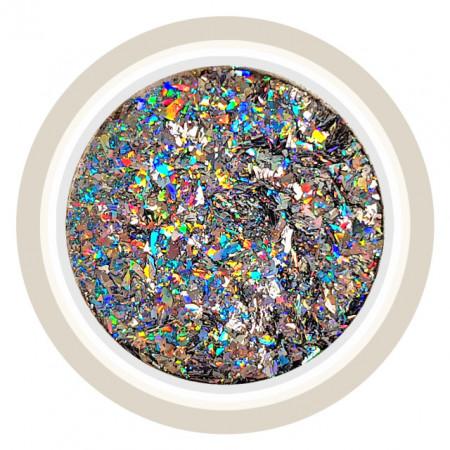 Pudra Decorativa Unghii Laser Effect sau Chrome Flake