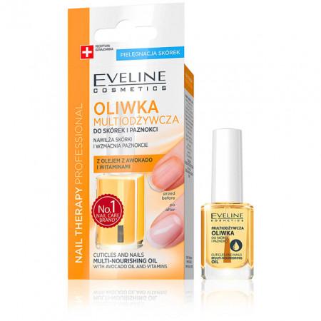 Ulei Cuticule Multi Nutritiv cu Avocado si Vtamine pentru Intarirea Unghiilor Eveline Cosmetics